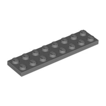 LEGO 4210997 PLATE 2X8 - DARK STONE GREY