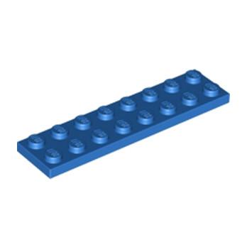LEGO 303423 PLATE 2X8 - BLEU