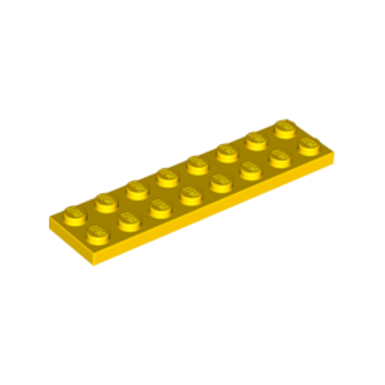 LEGO 303424 PLATE 2X8 - JAUNE