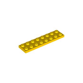 LEGO 303424 PLATE 2X8 - YELLOW