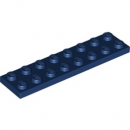 LEGO 4177740 PLATE 2X8 - EARTH BLUE
