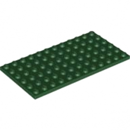 LEGO 4264818 PLATE 6X12 -EARTH GREEN