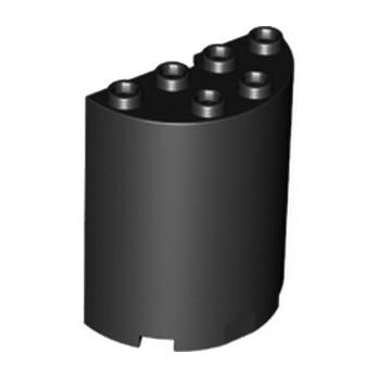 LEGO 6195295 CLOISON ARRONDI 2X4X4 - NOIR lego-6195295-cloison-arrondi-2x4x4-noir ici :