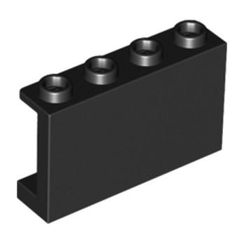 LEGO 6115117 CLOISON 1X4X2 - NOIR