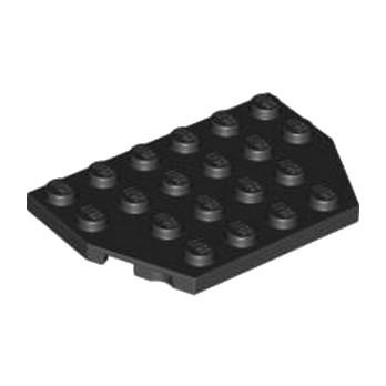 LEGO 4129572 PLATE 4X6 26 ° - NOIR