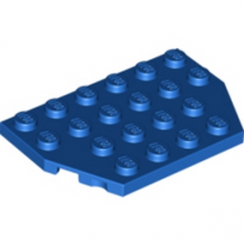 LEGO 4141268 PLATE 4X6 26° - BLEU lego-6016165-41268-plate-4x6-26-bleu ici :