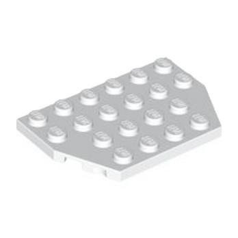 LEGO 4117026 PLATE 4X6 26° - BLANC