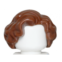 LEGO 6102273 CHEVEUX FEME - REDDISH BROWN