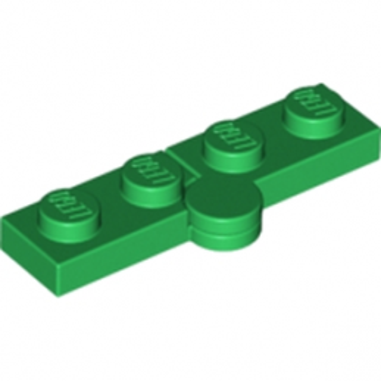 LEGO 4100353 HINGE PLATE 1X2 - DARK GREEN