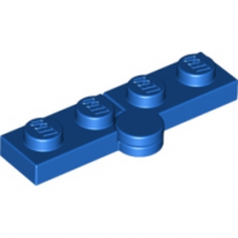 LEGO 4119371 HINGE PLATE 1X2 - BLEU