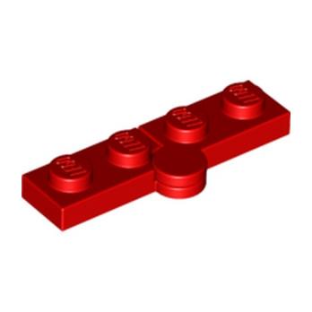 LEGO 6102786 HINGE PLATE 1X2 - ROUGE