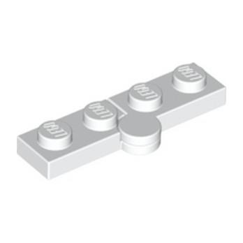 LEGO 6102776 HINGE PLATE 1X2 - BLANC