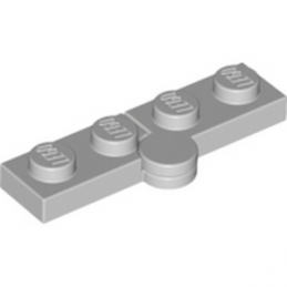 LEGO 4219256 HINGE PLATE 1X2 - MEDIUM STONE GREY lego-6102769-hinge-plate-1x2-medium-stone-grey ici :