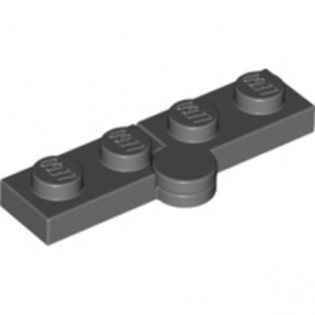 LEGO 4244569 HINGE PLATE 1X2 - DARK STONE GREY