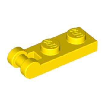 LEGO 4515367 PLATE 1X2 W/SHAFT Ø3.2 - JAUNE
