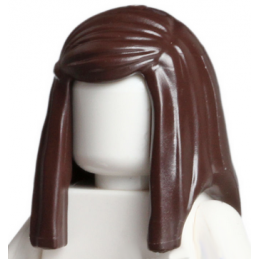 LEGO 6129849 CHEVEUX FEME - DARK BROWN