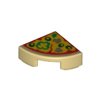 LEGO 6175469 - 1x1 1/4  - PIZZA IMPRIME