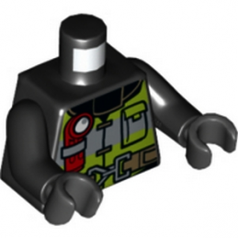 LEGO 6132595 TORSE POMPIER lego-6254472-torse-pompier ici :
