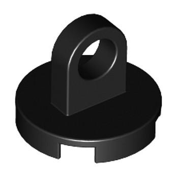 LEGO 237626 ROUND PLATE 2X2 W/EYE - NOIR lego-6010831-round-plate-2x2-weye-noir ici :