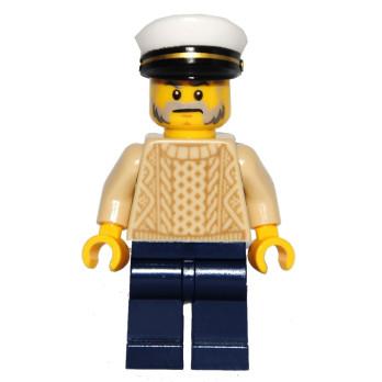 Figurine Lego® IDEAS - Le vieux magasin de Pêche 21310 - Le Capitaine