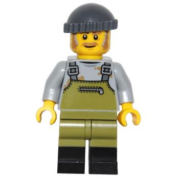 Figurine Lego® IDEAS - Le vieux magasin de Pêche 21310 - Le Pêcheur