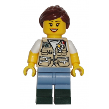 Figurine Lego® IDEAS - Le vieux magasin de Pêche 21310 - La Pêcheuse