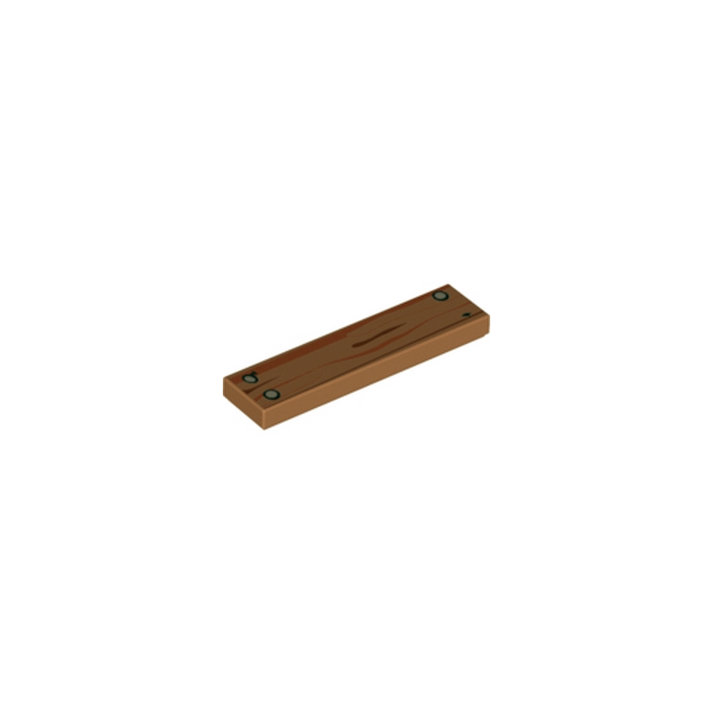 lego 6151654 planche de bois 1x4 medium nougat. Black Bedroom Furniture Sets. Home Design Ideas