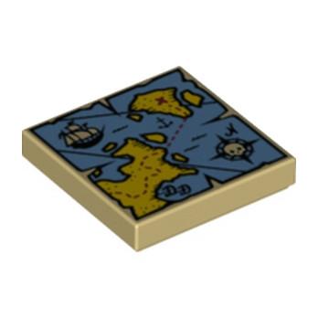 LEGO 6100077 CARTE IMRIME - BEIGE
