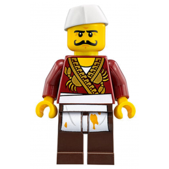 Figurine Lego® La Ville Ninago Movie 70620 - Severin Black