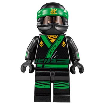 Tenue Figurine Lego® La Ville Ninago Movie 70620 - Tenue Ninjago Vert