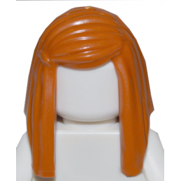LEGO 6193939 CHEVEUX FEME - DARK ORANGE