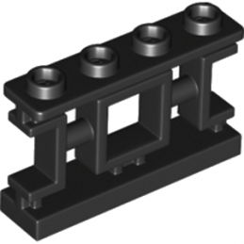 LEGO 6195092 BALUSTRADE 1X4X2 - NOIR