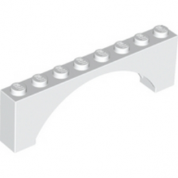LEGO 330801 ARCHE 1X8X2 - BLANC