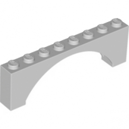 LEGO 6079722 ARCHE 1X8X2 - MEDIUM STONE GREY