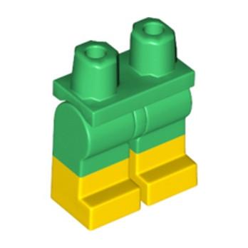 LEGO 6192125 JAMBE BICOLORE - VERT/JAUNE