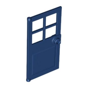LEGO 6186576 PORTE / FENETRE 1X4X6 - EARTH BLUE