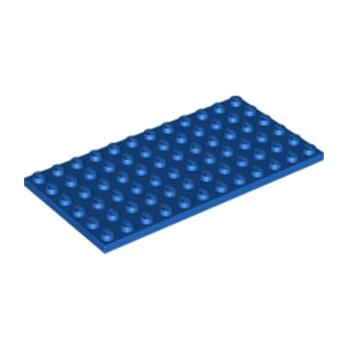 LEGO 6186644 PLATE 6X12 - BLEU