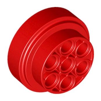 LEGO 6132385 TURBINE Ø 31,37W.HOLES Ø4,85 - ROUGE