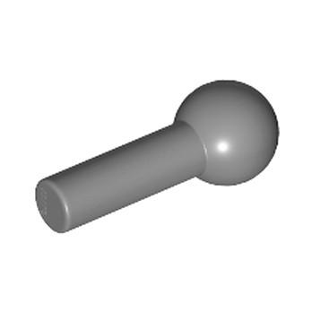 LEGO 6158469 - 3.2 SHAFT W/5.9 BALL - DARK STONE GREY