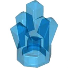 LEGO 4541538  ROCK CRYSTAL - BLEU FONCE TRANSPARENT