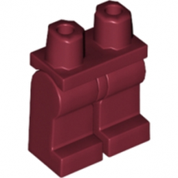 LEGO 4541496 JAMBE - NEW DARK RED