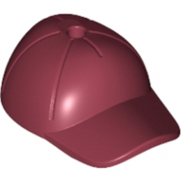 LEGO 6102964 CASQUETTE - NEW DARK RED
