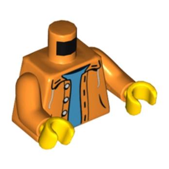 LEGO 4629972 TORSE VESTE - ORANGE