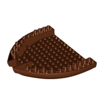 LEGO 6182377 COQUE BATEAU 16X14X21/3 Ø4.85 - RESSISH BROWN
