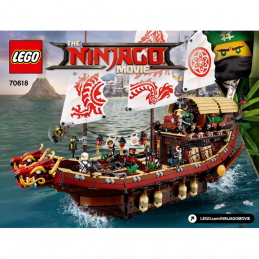 Notice / Instruction Lego Ninjago 70618