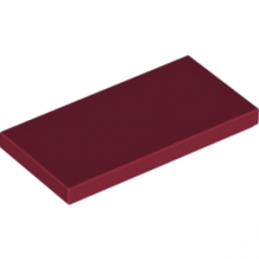 LEGO 6186003 PLATE LISSE 2X4 - NEW DARK RED