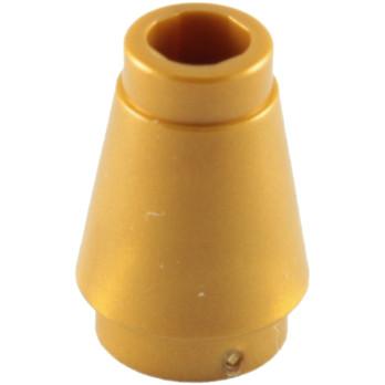 LEGO 4529247 CONE 1X1 - WARM GOLD