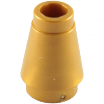 LEGO 4529247 CONE 1X1 - WARM GOLD lego-4529247-cone-1x1-warm-gold ici :