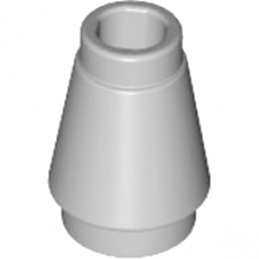 LEGO 4518652 CONE  1X1 - MEDIUM STONE GREY