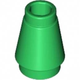 LEGO 4520095 CONE SMALL 1X1 - DARK GREEN